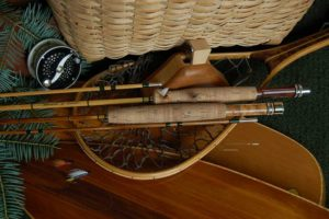Custom bamboo fly rod from Ron Barch