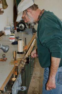 Ron Barch bamboo rod maker